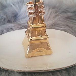Michael Kors triple band gold ring